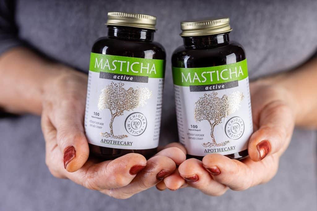 Dve balenia Masticha Active - 33 dní terapie