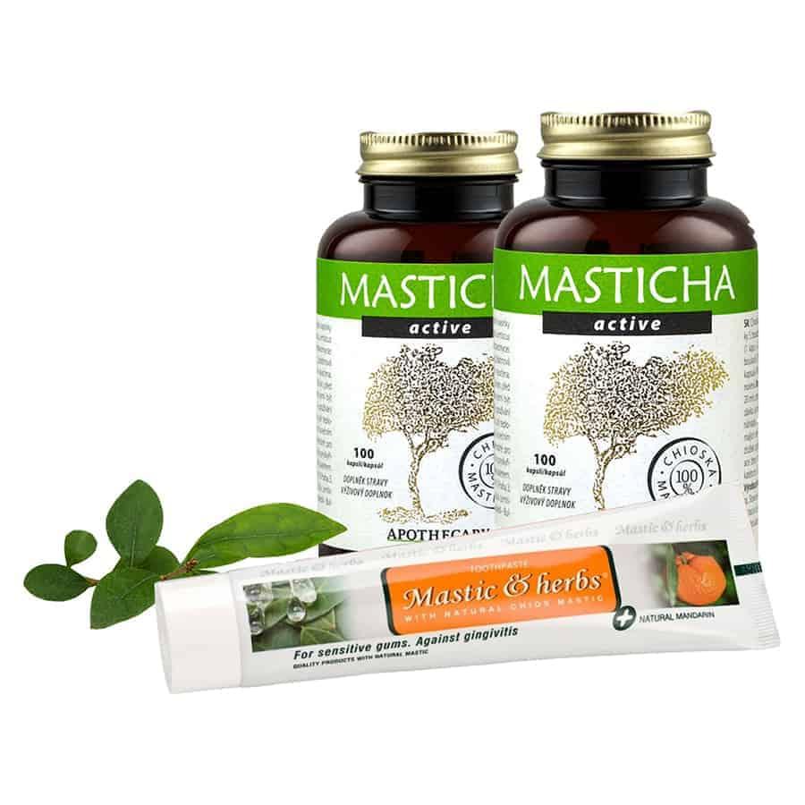 Masticha Active + zubná pasta