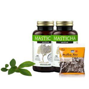 Balíček produktov Masticha Active a kryštálov