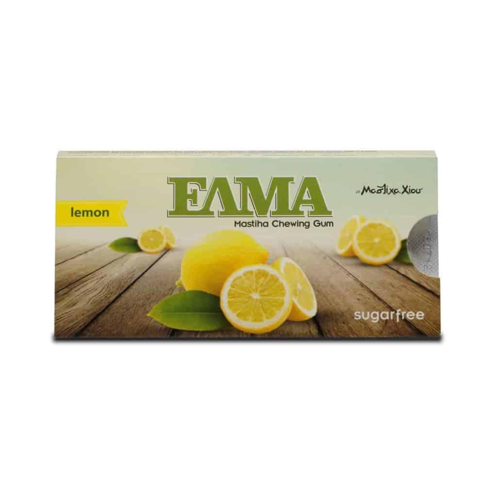 Elma žuvačky - citrón
