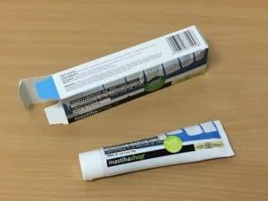 Mastichová zubná pasta