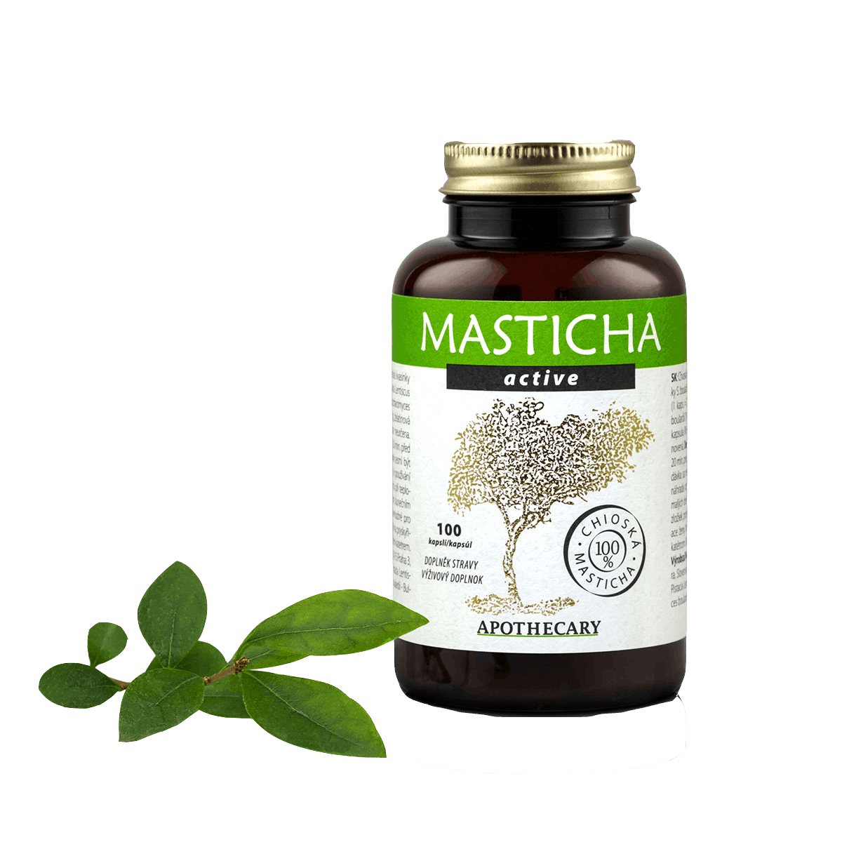 Masticha Active 100 kapsúl