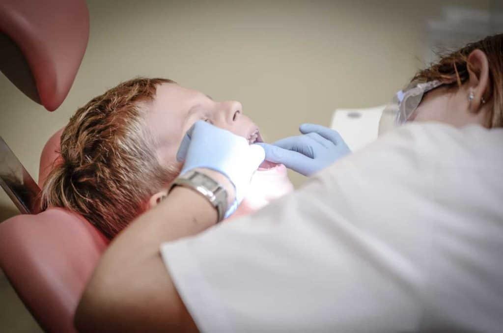 Vyšetrenie u zubára