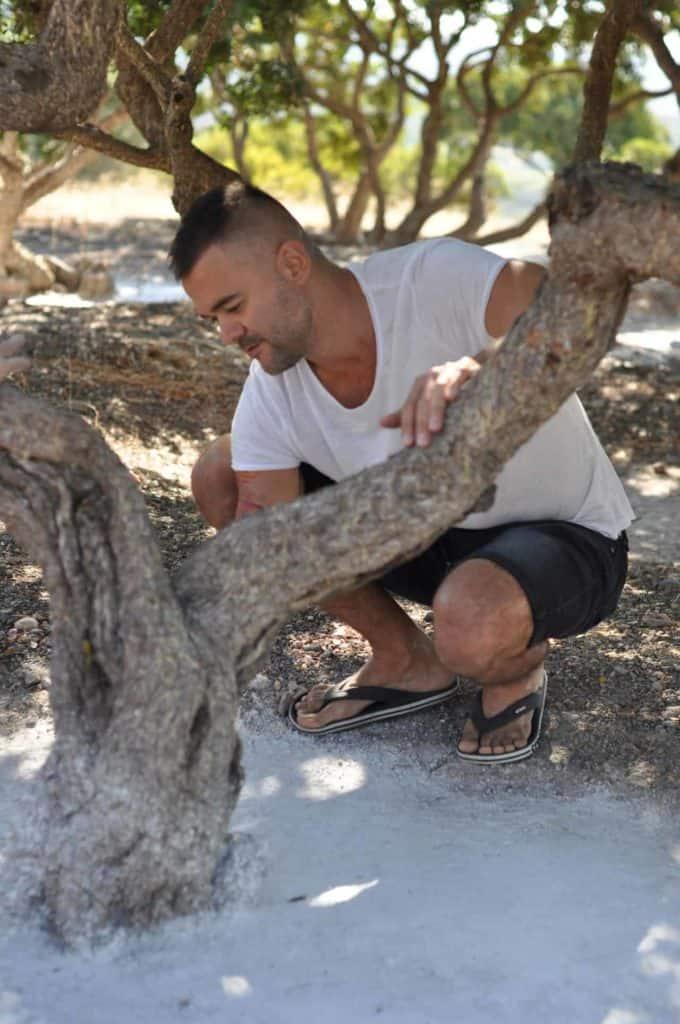 Pavol Bojda na ostrove Chios