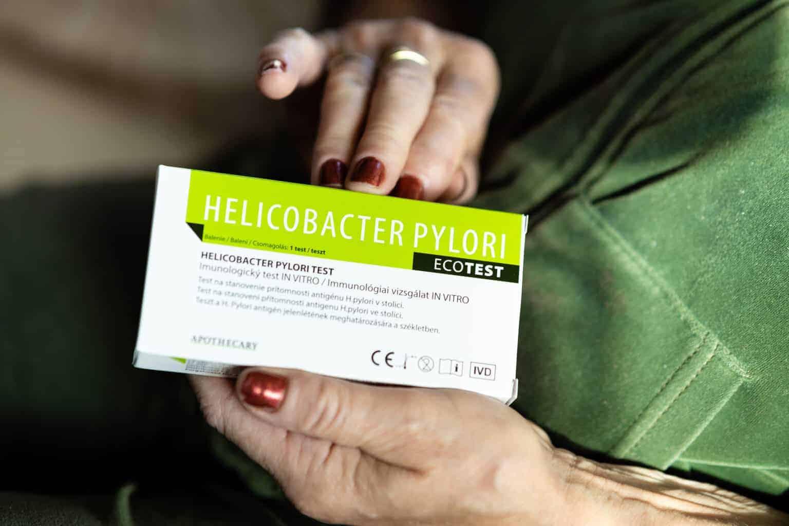 Test na helikobakter na doma