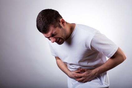 Bolesti brucha pri žalúdočných problémoch