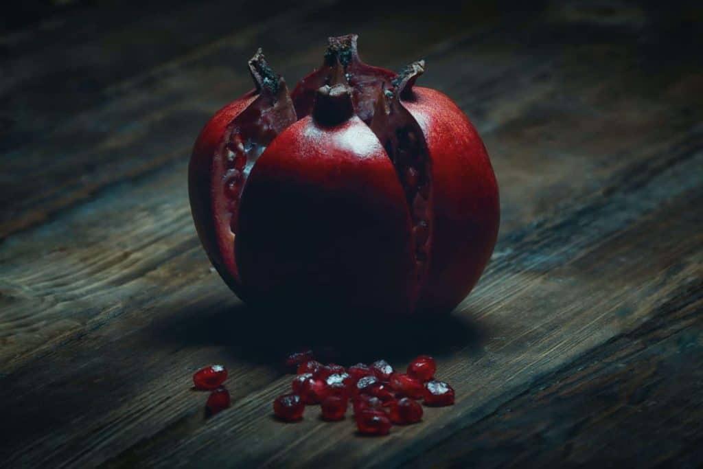 Granátové jablko - liečivé účinky